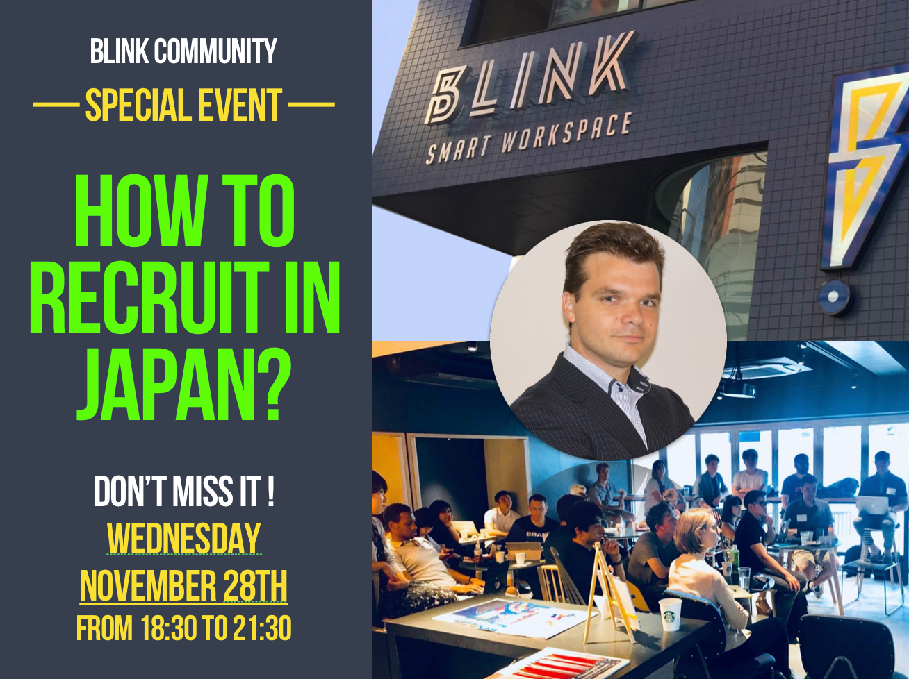 HR Event – How to recruit successfully in Japan?
