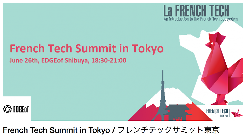 "HirePlanner to participate in the ""French Tech Summit in Tokyo / フレンチテックサミット東京"""