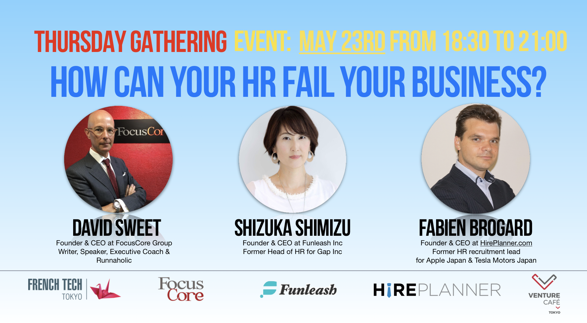 Japan HR Events – How can your HR fail your business?