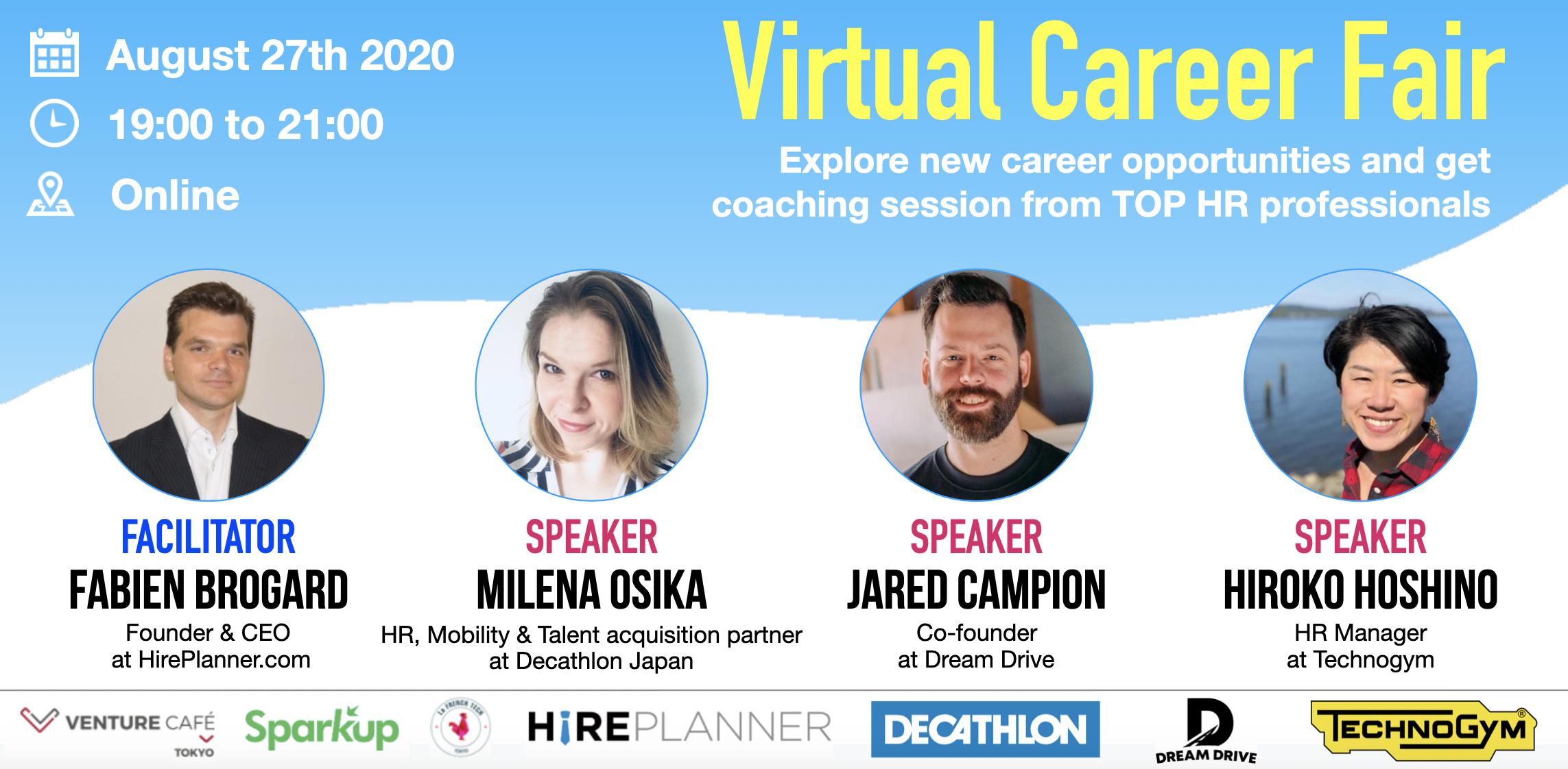 Japan Virtual Career Event – 2020 Summer Edition (Online Job Fair)