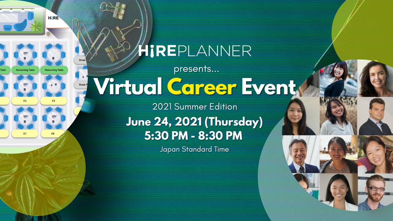 Japan Virtual Career Event – June 24th 2021 (3rd Edition)
